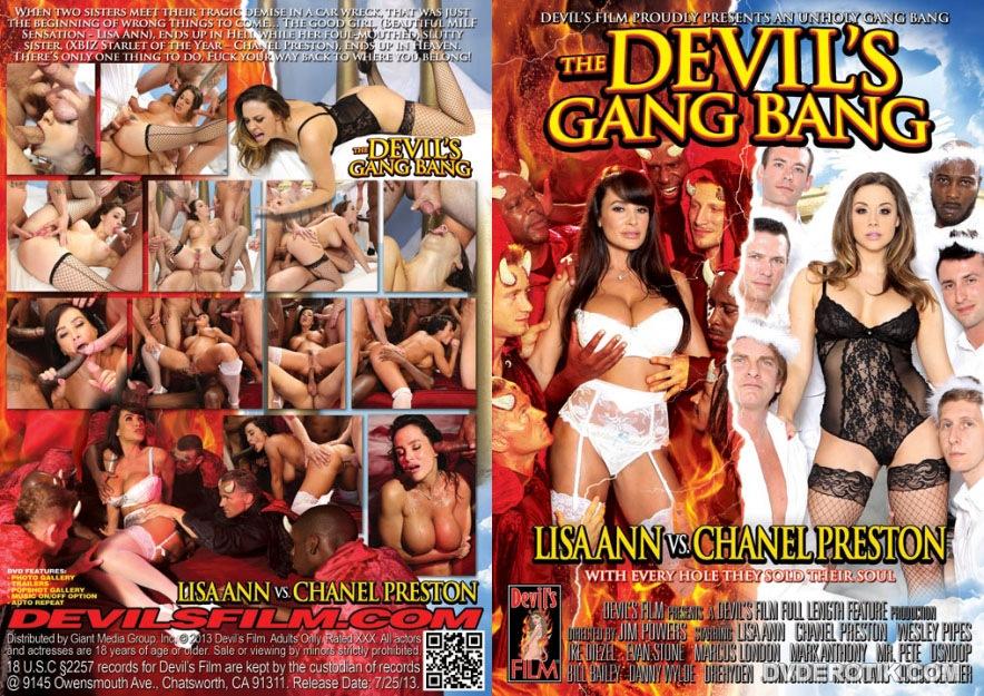 Devil Gangbang Interracial Hd
