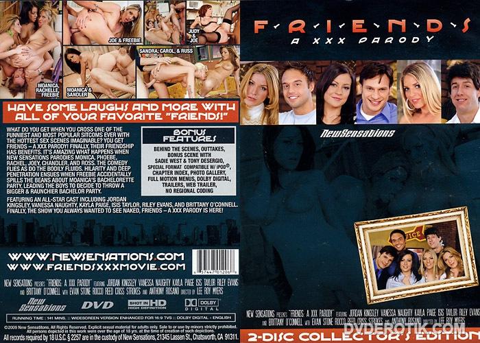 Friends Porn Parody - Friends A XXX Parody 2 Disc Collectors Edition DVD by New Sensations